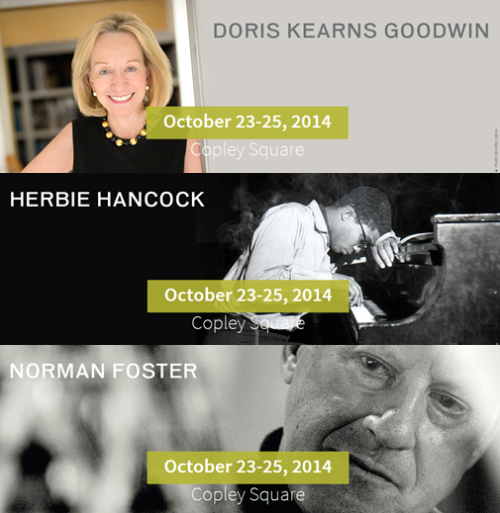 Doris Kearns Goodwin, Herbie Hancock, Norman Foster