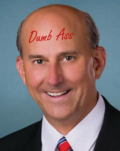 Dick of the week Rep. Louie Gohmert