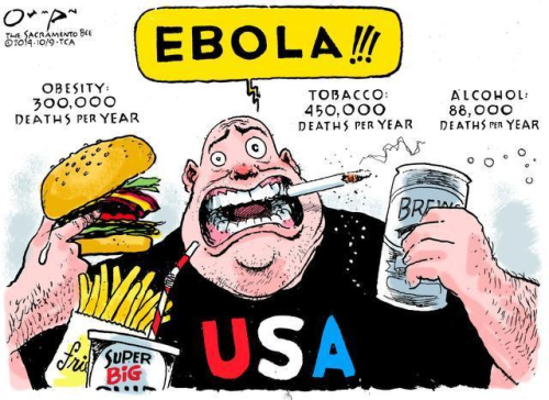 American's concerned about ebola