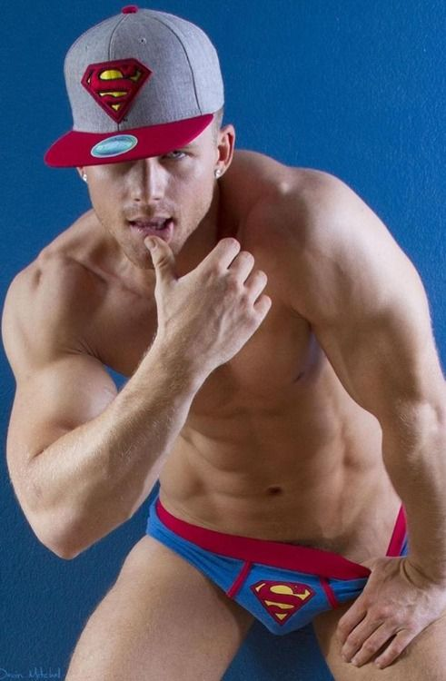 hunk, handsome, superman, shirtless