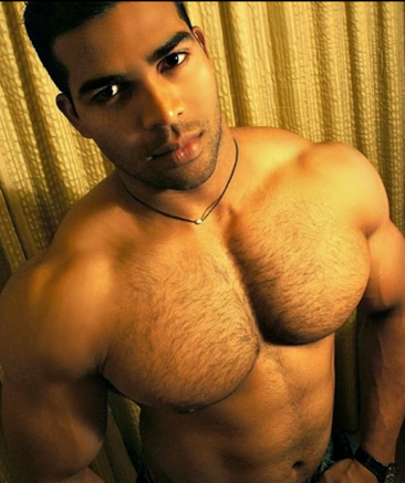 Furry Friday, handsome, hunk, shirtless guy