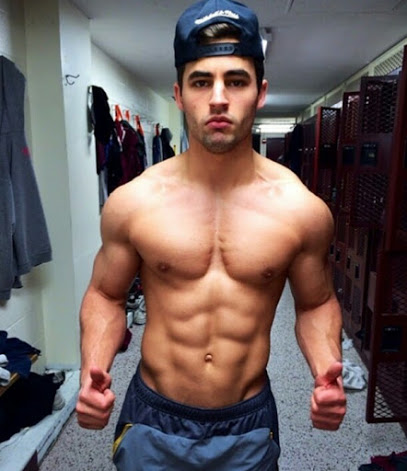 Temptation Tuesday, shirtless guy, hunk, handsome