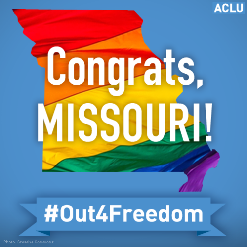 Missouri Marriage Equality