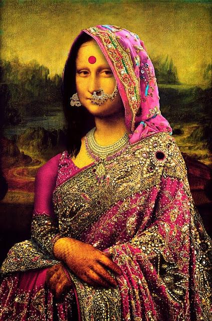 Mona Lisa Indian