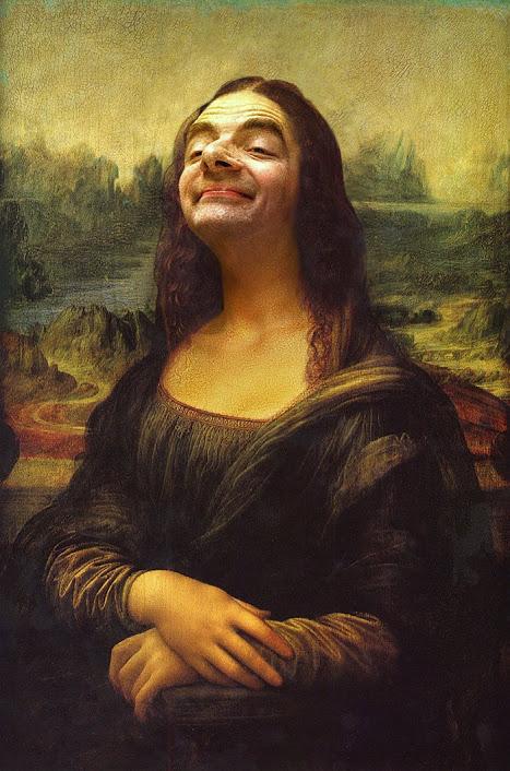 Mona Lisa Mr Bean