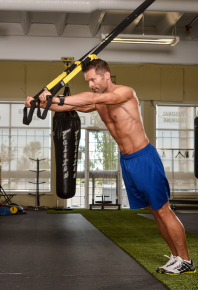 Kyle Realm and Fitness tips TRX workout