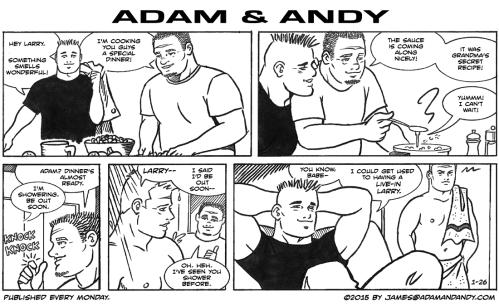 Gay Cartoon, James Asal Jr.