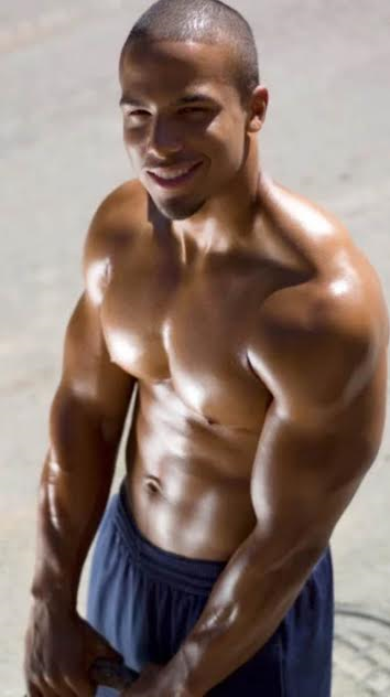 handsome, hunk, gay, black man