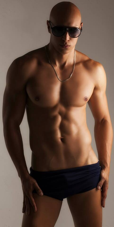 handsome, hunk, shirtless