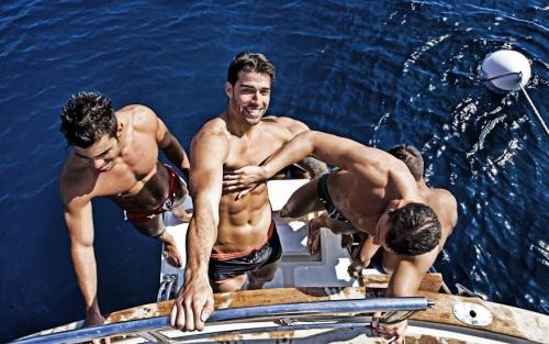 handsome, hunks, bathing suits, men