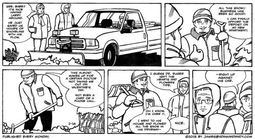 James Asal Jr., gay comic strip