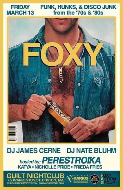 James Cerne, Nate Bluhm, Chiris Harris Presents, Boston Gay Mafia