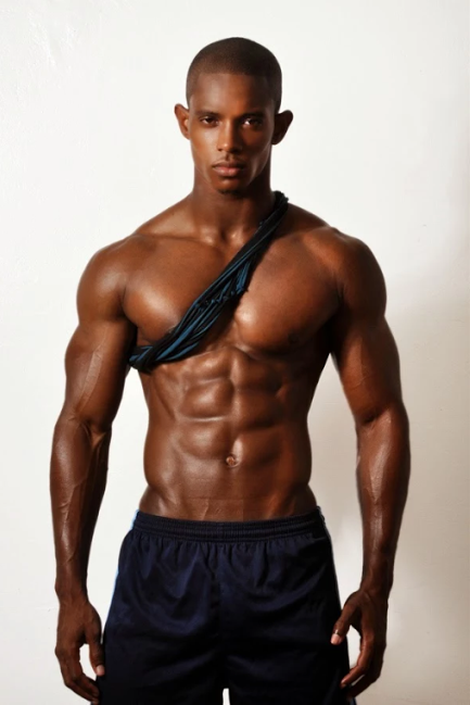 shirtless, wicked gawjus, black, black man, abs