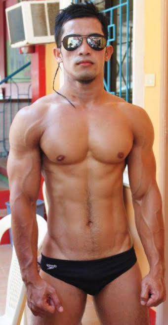 handsome, hunk, shirtless, asian hunk, speedo, swimsuit