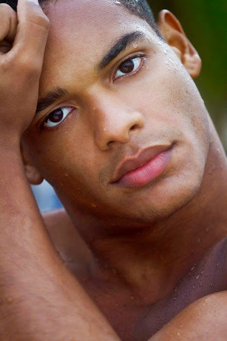 handsome, hunk, black guy, beautiful lips, gay