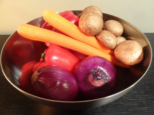 roasting vegetables, cooking, healthy eating