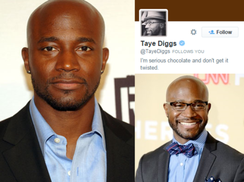 Taye Diggs Twitter
