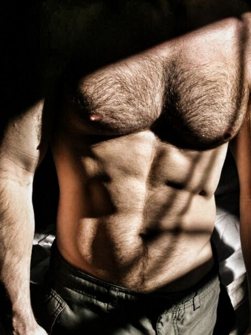 hairy chest, hunk, furry, abs