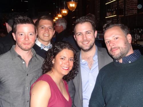 Boston Chops Anniversary Party