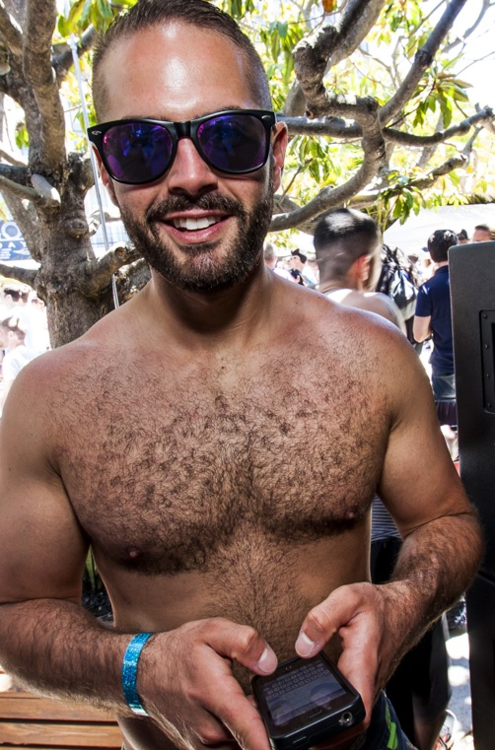 hairy chest, hunk, shirtless, handsome