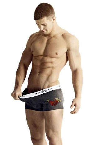 humor, handsome, hunk, abs, smooth, underwear
