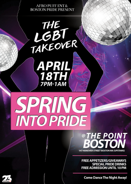 LGBT Boston Pride Takeover