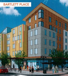 Bartlett Place in Dudley Square