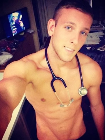 Temptation Tuesday, handsome, hunk, shirtless, abs