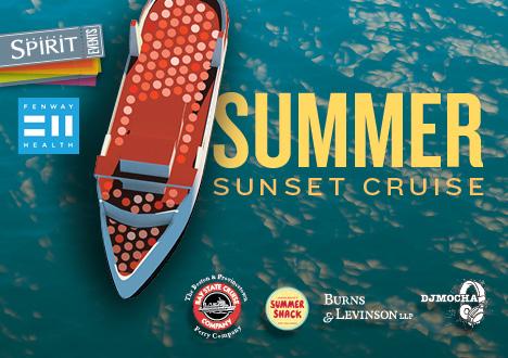 Boston Spirit Summer Cruise to benefit Fenway Health