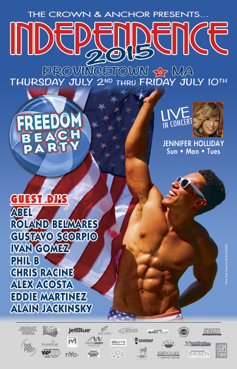 Independence Week Provincetown 2015 at Crown and Anchor