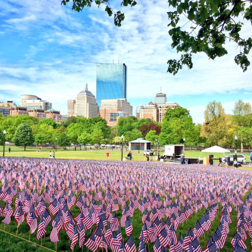 Memorial Day Boston Common