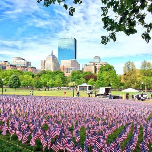 Memorial Day Boston Common