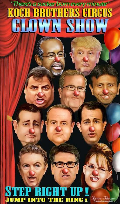 Republican Primary Clown Show