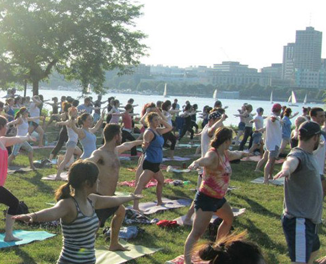 Free yoga, Boston