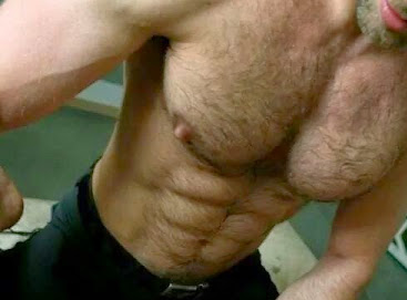 Furry Friday, abs, chest, hunk