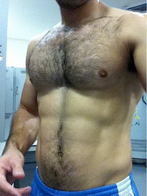 abs, chest, hair, handsome, hunk