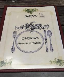Carbone Ristorante Hells Kitchen Menu