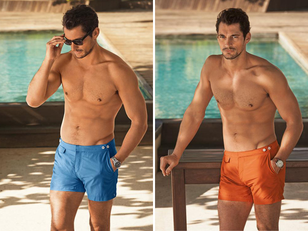 a3bc09517d0e9 Gandy Candy: David Gandy in new swimwear collection | BosGuy