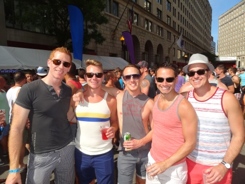 Back Bay Boston Pride Block Party