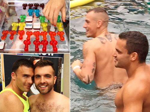 Manhunt Pool Party Group Photos 2