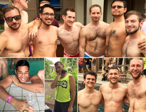 Manhunt Pool Party Group Photos 3