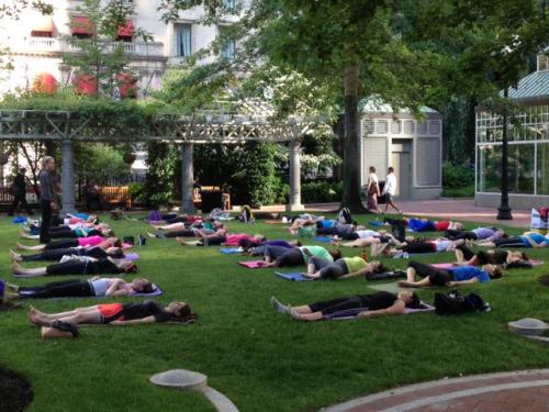 Free fitness classes, boston, boston moves