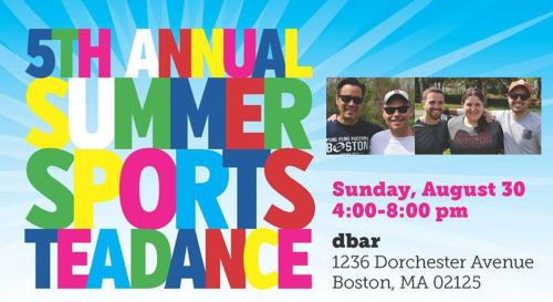 dbar summer sports tea dance
