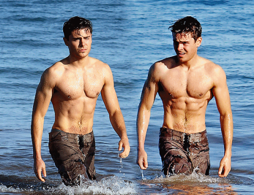 Dylan and Zac Efron