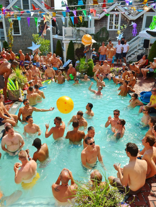 Carnival Week Brass Key Pool Party in Provincetown