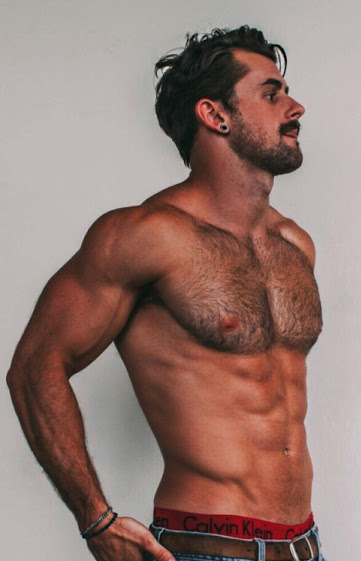 muscles, handsome, hunk, abs