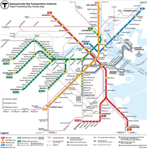 MBTA stations