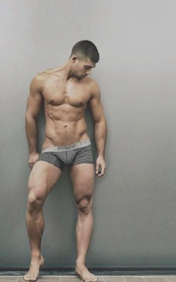 handsome, hunk, underwear, abs