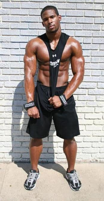 handsome, hunk, abs, muscles, black