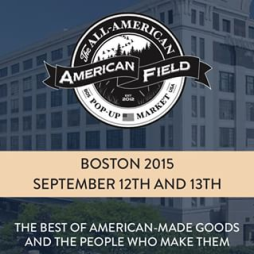 American Field Pop Up Boston 2015